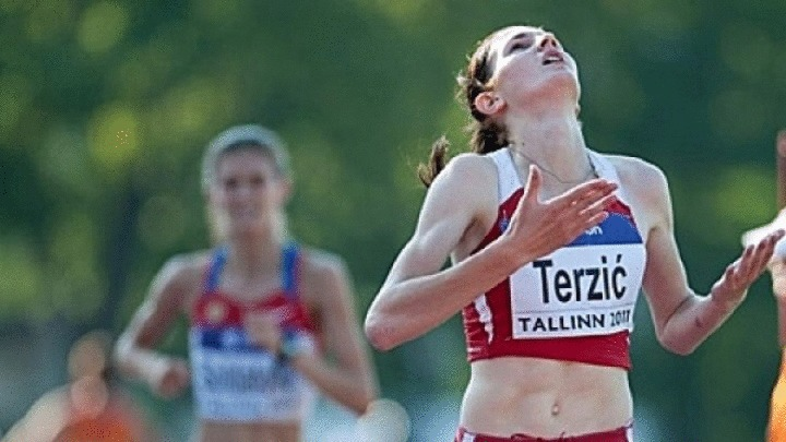 Amela Terzić oborila nacionalni rekord na 1 500 metara