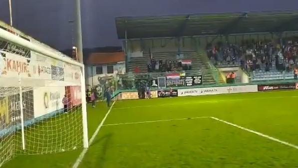 FK Zvijezda 09 napustio teren Pecare zbog fotografije Slobodana Praljka