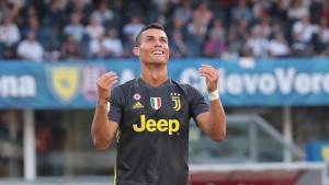 Ronaldo ponovo pogodio, Juve jedva protiv Frosinonea