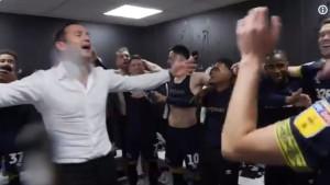 Ludnica u svlačionici Derbyja: Lampard poveo navijanje i 'zaplakao'
