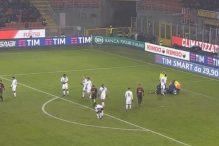Igrači Milana u nevjerici gledali Harta