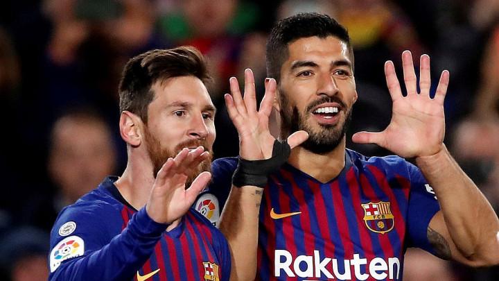 Barcelona ponovo na pogon Suareza i Messija
