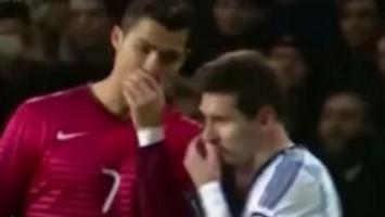 Ronaldo je s ovim do suza nasmijao Messija