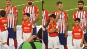 Ovom dječaku ništa nije bilo jasno! Šta je to radio Diego Costa?