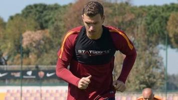 Dobre vijesti iz Rima: Džeko spreman za Chievo!?