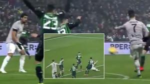 Topovski šut u glavu saigrača: Cristiano Ronaldo nokautirao Khediru