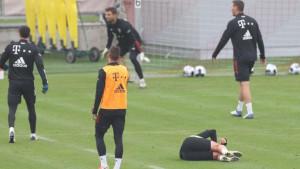 Varnice na treningu Bayerna, najgore prošao Francuz, Lewandowski nije želio ni da se izvini