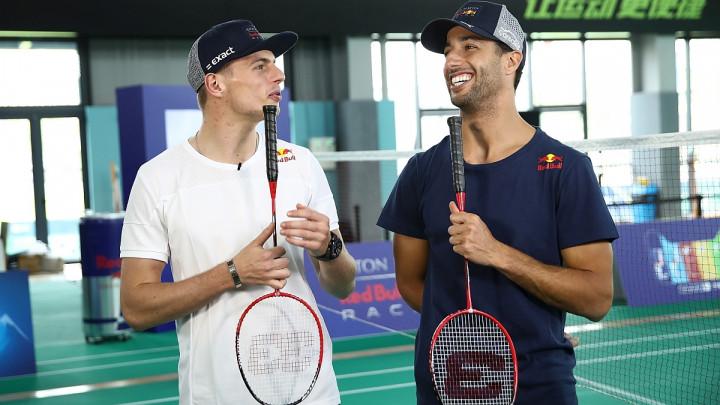 Ricciardo prije pobjede na VN Kine igrao - badminton