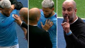 Žestok sukob Guardiole i Aguera nakon izlaska Argentinca iz igre