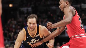 Bogdanović pogodio za zvukom sirene za pobjedu Jazza, Clippersi protutnjali Clevelandom