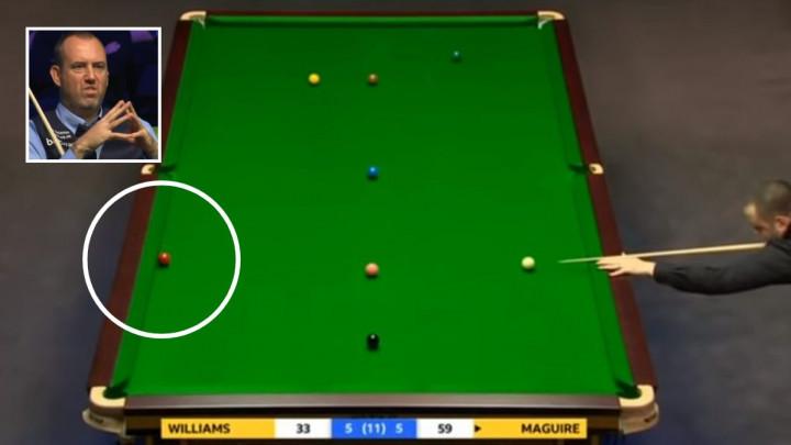 Čarobni snooker: Krađa freama Maguira protiv Williamsa ući će u anale