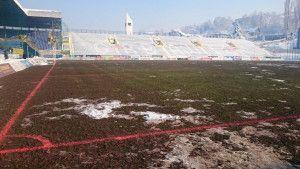 Rekonstrukcija glavnog terena odmah po završetku sezone