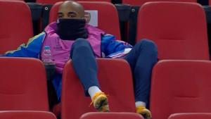 Fudbaler Arsenala kao da je u dnevnom boravku, a ne na fudbalskoj utakmici
