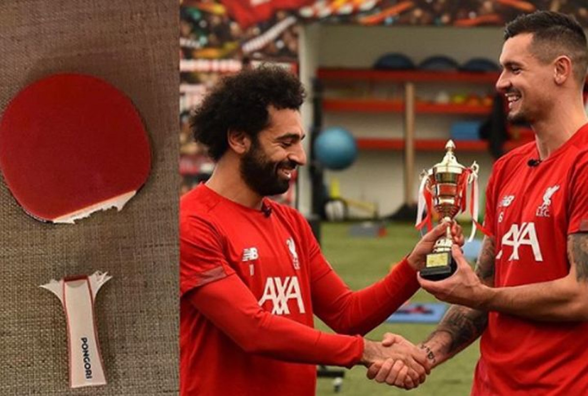 Salahu teško pao poraz od Lovrena u stonom tenisu, a onda se oglasio i Luka Modrić