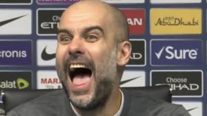 """Guardiola """"poludio"""" na lapsus novinara: """"Šest, osvojio sam šest titula u prvoj sezoni"""""""