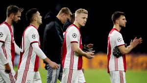 Ajaxu bilo malo 10 bodova: Jedan tim je imao i bolji učinak, pa je ispao