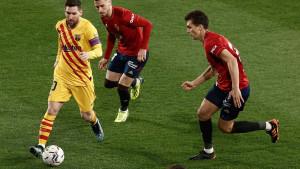 Barcelona sigurna protiv Osasune