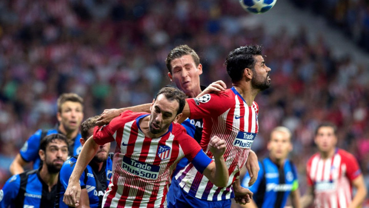 Atletico bolji od Club Bruggea, nastavlja se agonija Monaca