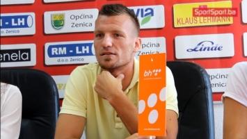 Jusić: Za nas igrače najteže su prve utakmice u ligi