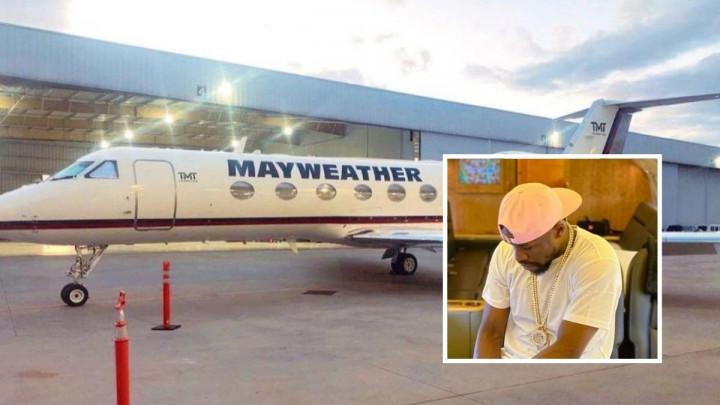 Mayweather je krio kako izgleda njegov privatni avion, a onda je slučajno objavio fotografiju