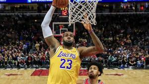 LeBron odveo Lakerse do desete pobjede u sezoni