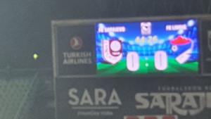Gromoglasni zvižduci na Koševu nakon prvog poluvremena: Sarajevo - Ljubić Prnjavor 0:0