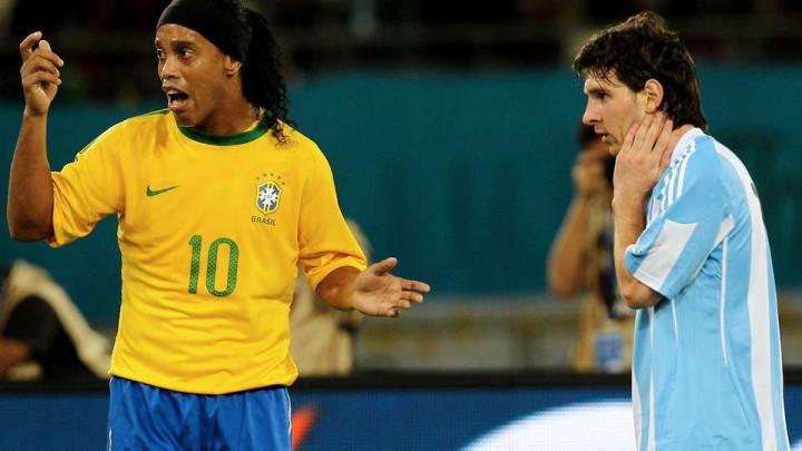 Ronaldinho objavio fotografiju s Messijem koja je izazvala veliku nostalgiju
