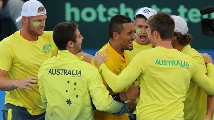 Australija u polufinalu Davis Cupa