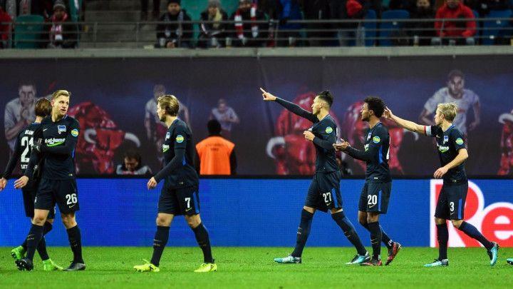Hertha sa igračem manje pobijedila Leipzig u gostima, Ibišević igrao 20 minuta