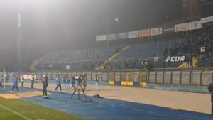 Navijači Željezničara još jednom pokazali ljubav prema klubu: Igrače pozdravili pjesmom