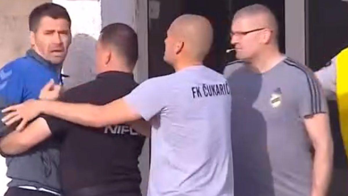 """""""Frka"""" na Čairu: Ko je koga htio da tuče? U centru incidenta i bivši trener Željezničara"""