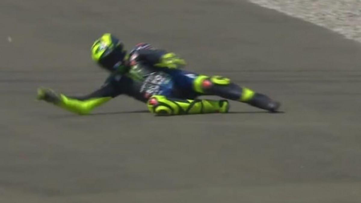 Čim je krenulo Rossi doživio katastrofu na svojoj stazi