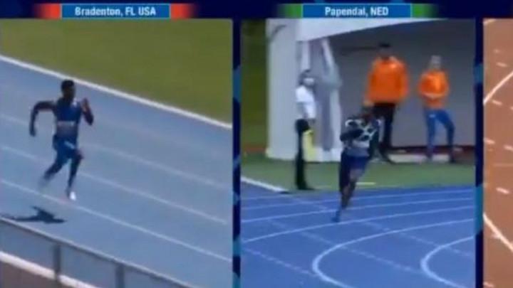 Mislio da je srušio Boltov rekord na 200 metara, ali onda je saznao tužnu istinu