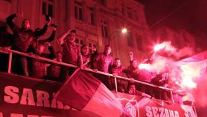 Počasni krug FK Sarajevo!
