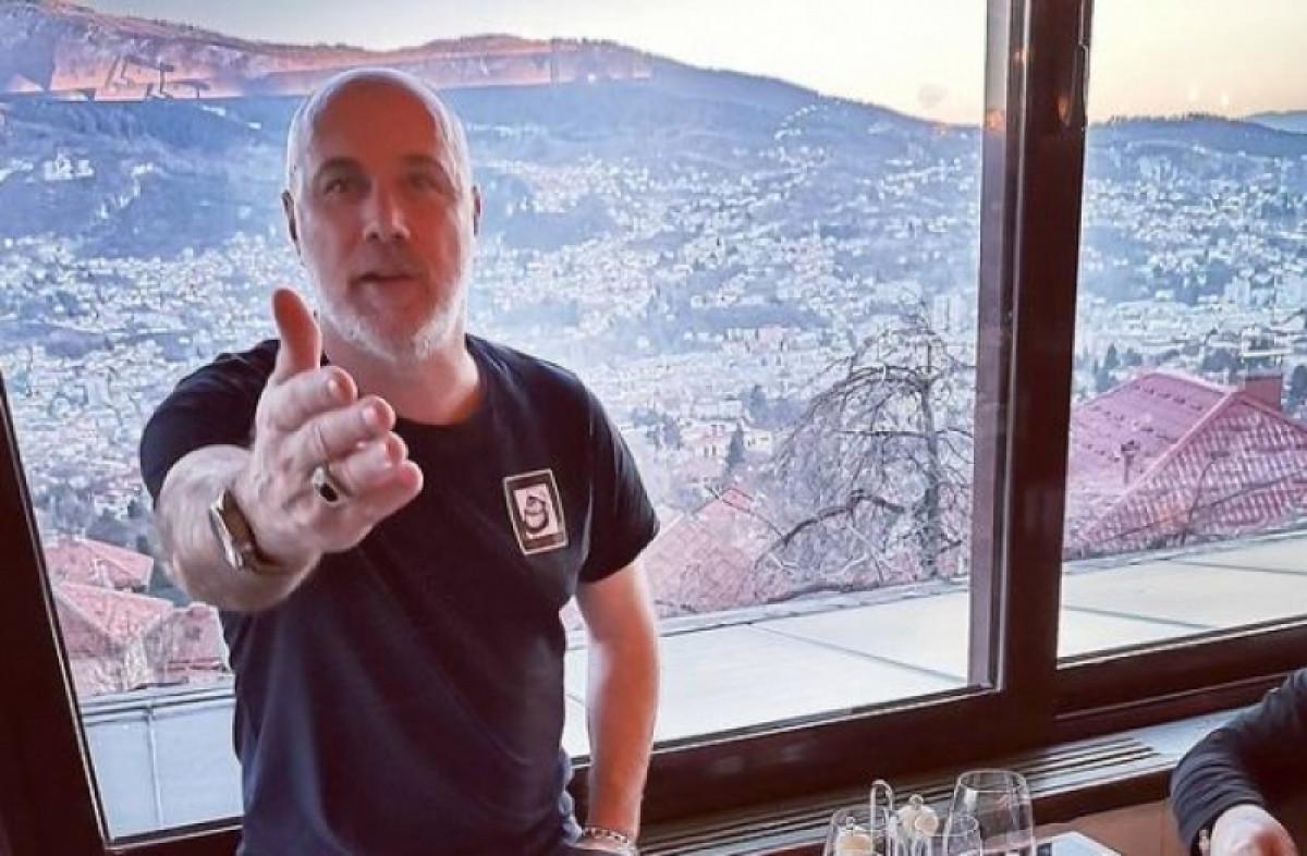 Barbarez u Sarajevu uz poznate stihove poručio: Nemaš kud!