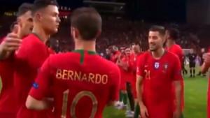 Ronalda su optužili da je ljut što je Bernardo Silva dobio nagradu, a snimak to demantuje