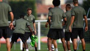 Igrače Juventusa dočekao transparent na treningu