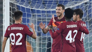 Roma bez problema do osmine finala: Džeko zabio gol, pa izašao zbog povrede