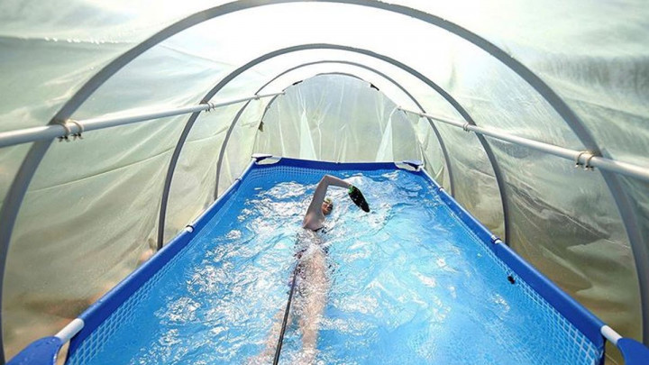 Talentovana bh. plivačica u plasteniku se sprema za nove izazove