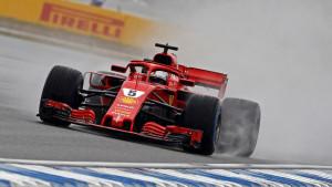 Vettelu pol pozicija u ludim kvalifikacijama za VN Njemačke