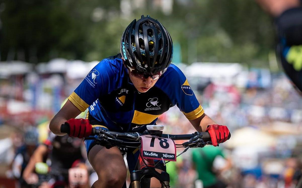 Lejla Tanović osvojila drugo mjesto na UCI C2 utrci u Srbiji