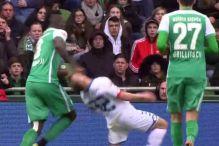 Fudbaler Werdera svojim potezom zgrozio svijet
