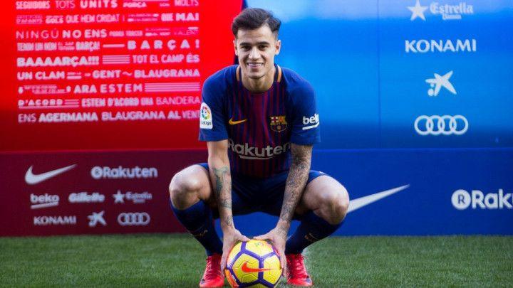 Barca objavila koje brojeve će nositi Coutinho i Mina