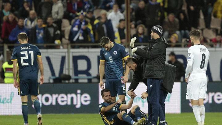 Miralem Pjanić zadobio povredu u duelu sa Italijom