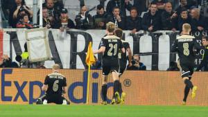 Izraz lica igrača Ajaxa u momentu kada je shvatio da će postići gol - neprocjenjivo