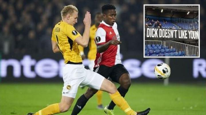 Neprikladnoj paroli navijača Feyenoorda se teško ne nasmijati: Naš Dick...