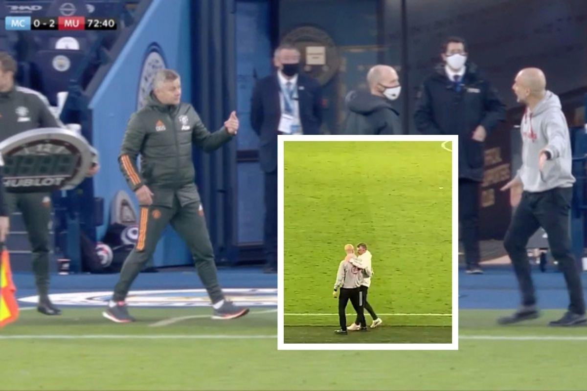 Solskjaer i Guardiola, drugi dio: Ostali su sami na terenu Etihada...