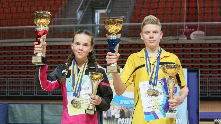 Adin Šećibović i Harisa Mešetović postali državni prvaci