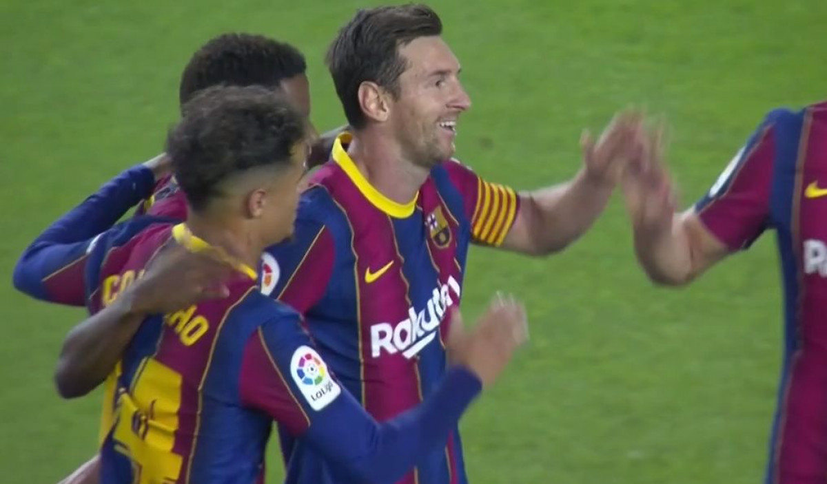 Rapsodija Barcelone u prvom poluvremenu