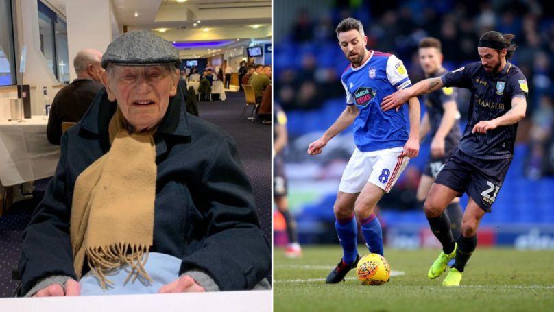 Ljubav nema granica: Ima 103 godine i putuje sedam sati da gleda voljeni klub